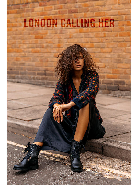 London calling her